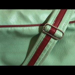 Aero California Bags - Aero California Leather Messenger Shoulder Bag